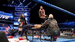 WWE Smackdown! Live Results for 7/3 Team Hell No Reunited, Asuka vs James Ellsworth