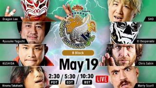 NJPW Best Of the Super Juniors 25 Day 2 Results: Block B Action Begins, Plus Chaos In Tag Action