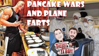 The List & Ya Boy Wrestling Podcast #60! Pancake wars, plane farts, James Ellsworth, WWE Raw, Elimination Chamber, guest Rhett Titus, more