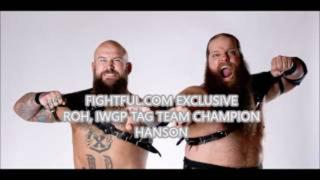 EXCLUSIVE: Hanson Talks WWE Tryout With American Wolves, Keith Lee, Matt Cross