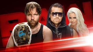 Raw Results 5/15 Intercontinental Title Match: Miz vs. Ambrose and More!