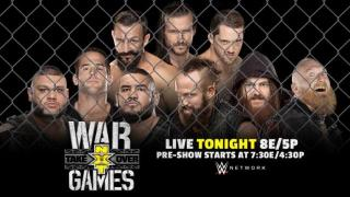 WWE NXT TakeOver: WarGames Results