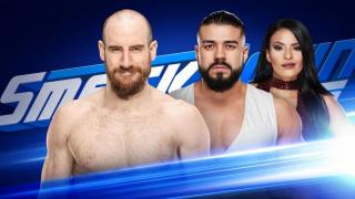 WWE Smackdown! Live Coverage for 8/14/18 New Day vs SAnitY, Aiden English vs Andrade Almas