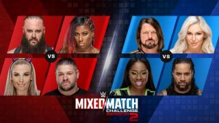 WWE MMC Live Results for 9/18/18 Kevin Owens & Natalya vs Braun Strowman & Ember Moon