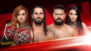 Seth Rollins & Becky Lynch vs. Andrade & Zelina Vega Made Official For WWE RAW
