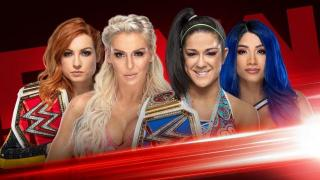 Becky Lynch & Charlotte To Face Bayley & Sasha Banks On 9/9 WWE Raw