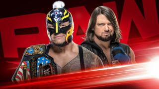 Rey Mysterio To Defend The United States Championship Against AJ Styles On The 12/9 Monday Night Raw