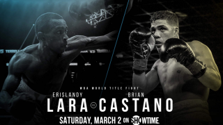 Showtime To Stream Erislandy Lara vs. Brian Castano Undercard Fights