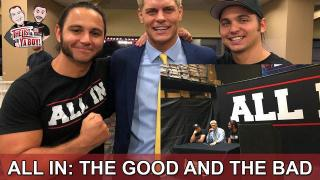Fightful List & Ya Boy Wrestling Podcast #72: All In, WWE, Guests Marty Scurll and Conrad Thompson