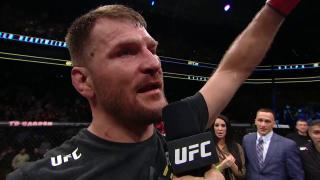 Stipe Miocic Says He Should Get First Brock Lesnar Fight