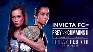 Invicta FC 39 Results: Ashley Cummins vs. Jinh Yu Frey II, Plus Miranda Maverick vs. Pearl Gonzalez