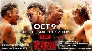 NJPW King Of Pro Wrestling Results: Kazuchika Okada vs. Evil Headlines, Two Title Changes & Roppongi 3K Debuts