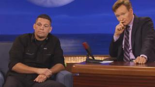 Nate Diaz Appears on 'Cool Irish Dude' Conan O'Brien's Show