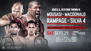 Bellator 206 Results: Mousasi vs. MacDonald Headlines, Rampage vs. Silva IV & The Welterweight Tournament Begins