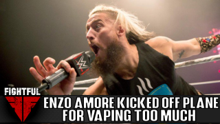 Report: Enzo Amore Kicked Off Flight For Vaping And Not Following Instructions