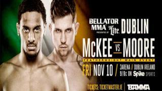 Bellator 187 Results: AJ McKee vs. Brian Moore Headlines & Conor McGregor Appears