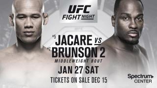 UFC On Fox 27 Results: Ronaldo Souza vs. Derek Brunson II & 3 Women's Bouts Highlight The Card