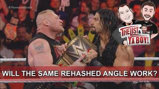 The List & Ya Boy Wrestling Podcast #62: Brock/Reigns, Mustafa Ali, Sami Callihan, FEEL THE ZOOM