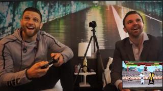 UFC 223's Calvin Kattar plays Mortal Kombat, Talks McGregor brawl & Weight Cutting