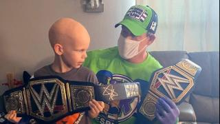 John Cena Surprises 7-Year-Old Boy Battling Cancer With An In-Home Visit
