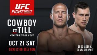 UFC Fight Night Gdansk Results: Cowboy vs. Darren Till Headlines, Karolina Kowalkiewicz In The Co-Main & Jan Blachowicz Gets A Big Sub