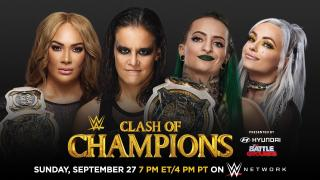 Nia Jax & Shayna Baszler To Defend WWE Women's Tag Team Titles At Clash Of Champions