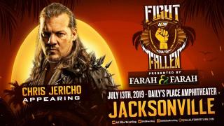 Chris Jericho Announced For AEW's Fight For The Fallen