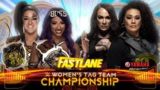Nia Jax And Tamina Challenging Sasha Banks And Bayley For WWE Women's Tag Team Titles At 'Fastlane'