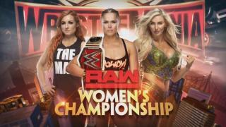 Ronda Rousey vs. Charlotte Flair vs. Becky Lynch For RAW Women's Title Official For WrestleMania 35