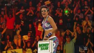 Bayley Wins Women's Money In The Bank Ladder Match