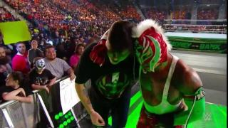 Rey Mysterio Becomes WWE U.S. Champion At Money In The Bank, Beat Down By Samoa Joe Post-Match