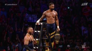 Street Profits Capture The Vacant NXT Tag Team Championships At NXT TakeOver XXV