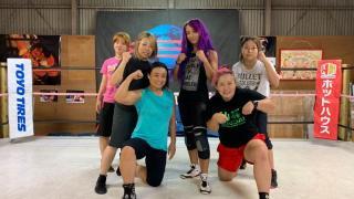 Sasha Banks Trains At Sendai Girls' Dojo In Japan