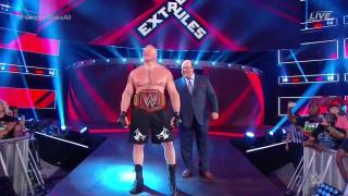 Brock Lesnar Cashes In On Seth Rollins At WWE Extreme Rules; Wins Universal Title For A 3rd Time