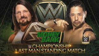 Shinsuke Nakamura Reveals The Stipulation For He And AJ Styles' WWE Championship Match At 'Money In The Bank'