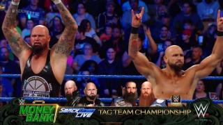 SmackDown Live Tag Team Titles Match Set For 'Money In The Bank'