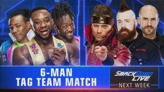 Six-Man Tag Team Match Announced For Next Week's SmackDown Live