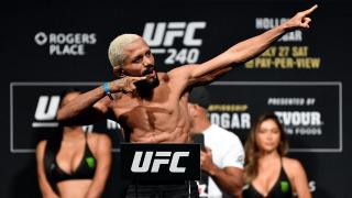 Video: UFC 255 Weigh Ins Live Stream And Results: Mike Perry Misses Big