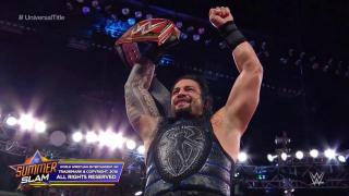 Roman Reigns Defeats Brock Lesnar To Become The New WWE Universal Champion