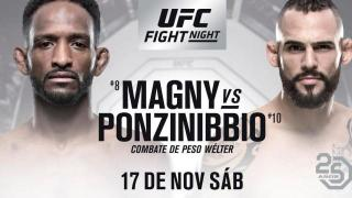 Live Coverage & Discussion For UFC Fight Night Buenos Aires: #8 Neil Magny vs. #10 Santiago Ponzinibbio​​​​​​​