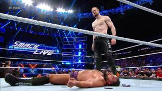 Aiden English Attacks Rusev On SmackDown Live