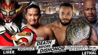 Fight Size Update: Tag Team Match Set For The The Post-'Death Before Dishonor XVI' ROH TV Tapings, WWE Superstars Hang Out, NJPW, More