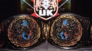 NXT U.K. Tag Team Championships Unveiled At The NXT U.K. TV Tapings In Plymouth, England