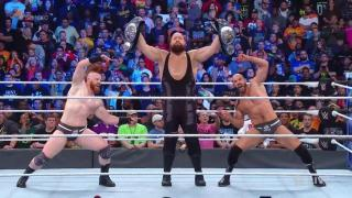 The Big Show Plays A Role In 'The Bar' Becoming SmackDown Live Tag Team Champions On WWE SmackDown 1000