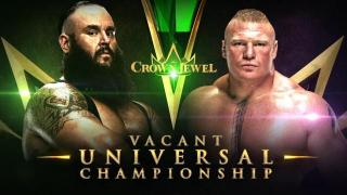Braun Strowman Faces Brock Lesnar For Vacant WWE Universal Title At Crown Jewel