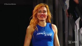 Exclusive Details: Becky Lynch Busted Open On WWE Raw During Brawl
