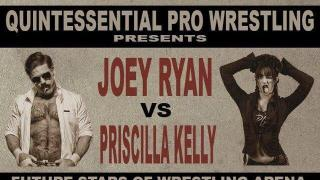 Joey Ryan vs. Priscilla Kelly Announced For 'Quintessential Pro Wrestling's' Show On March 14th