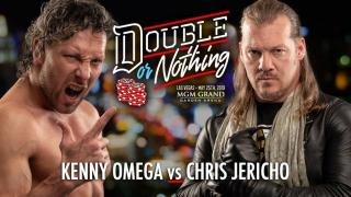 Kenny Omega vs. Chris Jericho Made Official For AEW's 'Double Or Nothing'