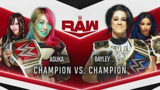 Bayley vs. Asuka Set For 7/6 Episode Of WWE Raw