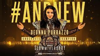 New Knockouts Champion Crowned At IMPACT Wrestling Slammiversary 2020